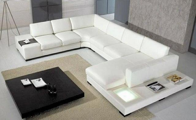 Vẻ đẹp trẻ trung năng động trên chính bộ ghế sofa da đẳng cấp