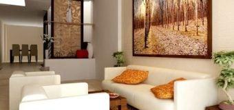 Gợi ý chọn bàn ghế sofa cho phòng khách rộng