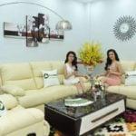 Nên chọn ghế sofa da hay sofa vải nỉ cho phòng khách tiện nghi