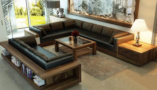 Nên lựa chọn bàn trà sofa tương ứng phù hợp với kích thước của bộ ghế sofa phòng khách