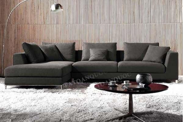 sofa nỉ cho phòng khách