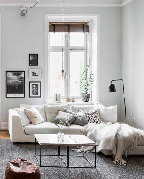 sofa góc mini vải bố