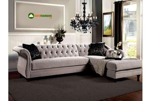 mua ghế sofa góc tân cổ điển ở đâu