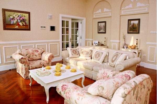 sofa vải cho phòng khách