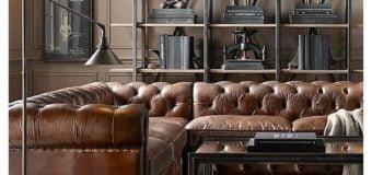 Bàn ghế sofa góc tân cổ điển và sức hút không thể cưỡng lại