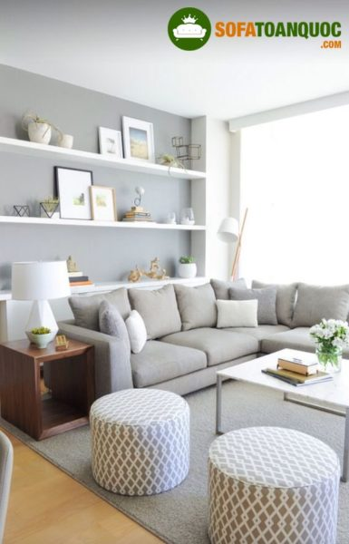 Lựa chọn bộ ghế sofa đẳng cấp cho không gian phòng khách thêm phần tiện nghi
