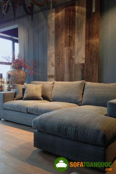 ưu điểm của bộ bàn ghế sofa chất liệu vải nỉ