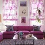 10 mẫu sofa góc màu tím mang phong cách hiện đại châu Âu