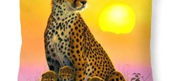 10 mẫu gối trang trí dễ thương cho bé về động vật hoang dã siêu cute