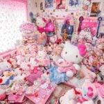 8 mẫu rèm cửa Hello Kitty cực kỳ đáng yêu cho phòng ngủ bé gái