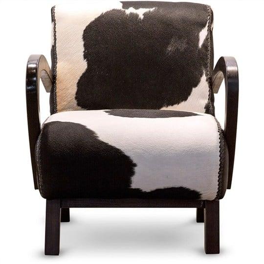 sofa da đơn chất liệu da bò