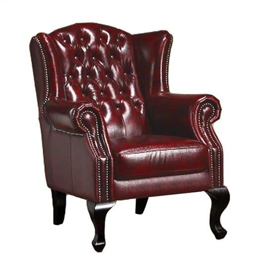 Sofa da đơn phong cách cổ điển