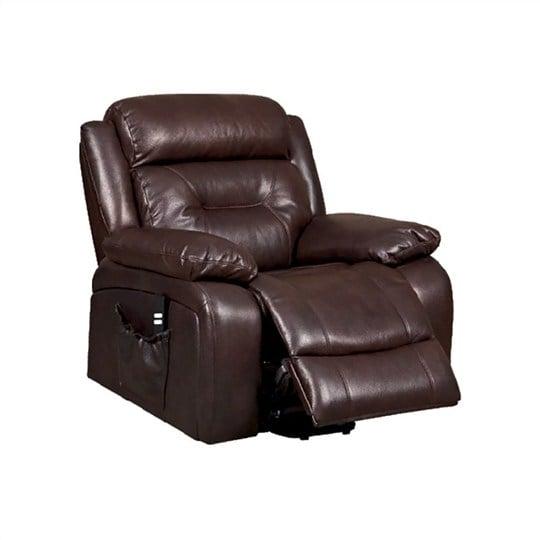 sofa da đơn ghế massage