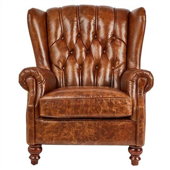 sofa da đơn đẹp phong cách châu Âu