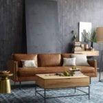 10 mẫu sofa da hiện đại cho không gian phòng khách
