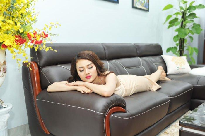 sofa da giá rẻ tại TPHCM