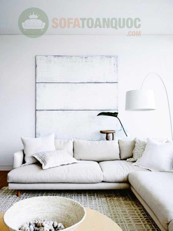 có nên mua ghế sofa góc màu trắng hay không?