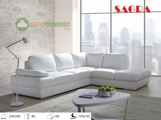 mua bàn ghế sofa góc màu trắng ở đâu Hà Nội