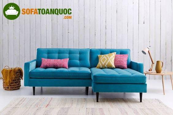 mẫu ghế sofa góc mini