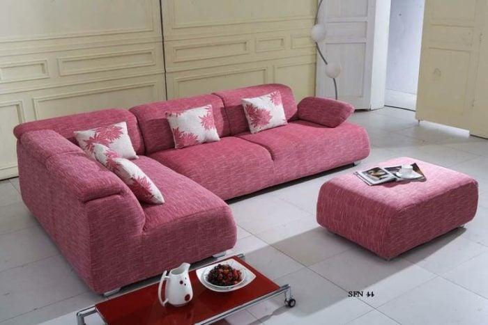 sofa vải bố cho phòng khách
