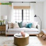 Mẫu sofa vải cao cấp sang trọng bậc nhất cho phòng khách