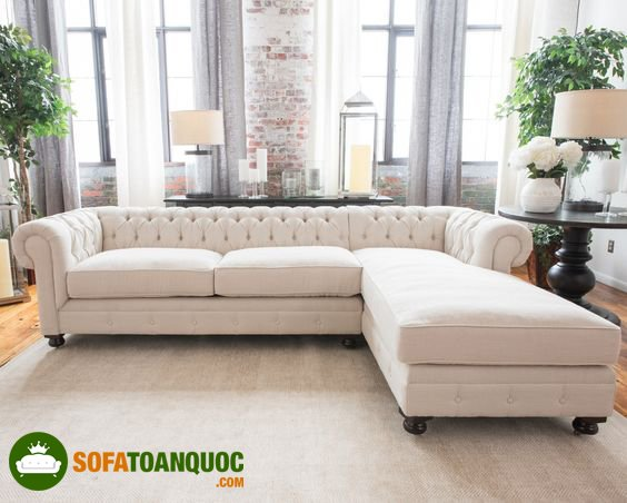 sofa vải cao cấp cho phòng khách