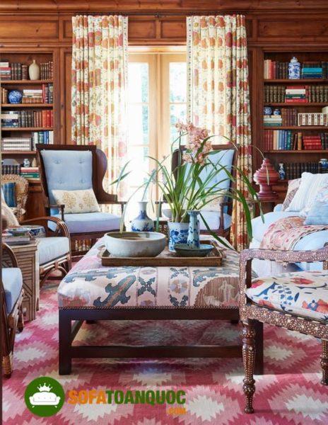 bàn ghế sofa vải cao cấp giá rẻ tại Hà Nội