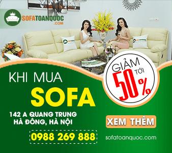 Sofa Toàn Quốc đang khuyến mại khá nhiều mẫu ghế sofa hiện nay