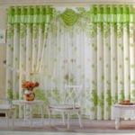 9 mẫu rèm cửa màu xanh lá cây đầy sức sống cho không gian phòng ngủ