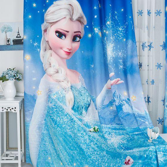 rèm cửa trẻ em dễ thương cho bé gái
