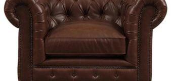 9 mẫu sofa da đơn đẹp mắt mang phong cách Âu châu