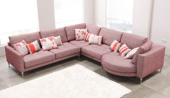 ghế sofa bọc vải giá rẻ cho phòng khách