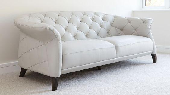 bộ ghế sofa văng tân cổ điển màu trắng