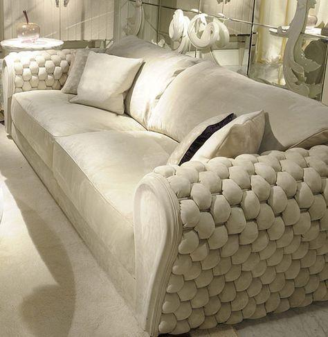 bộ bàn ghế sofa văng da cho phòng khách