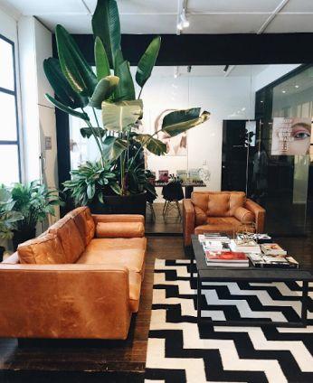 bộ ghế sofa văng chất liệu da cho phòng khách