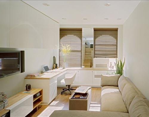 chọn bộ ghế sofa cho phòng khách nhà ống