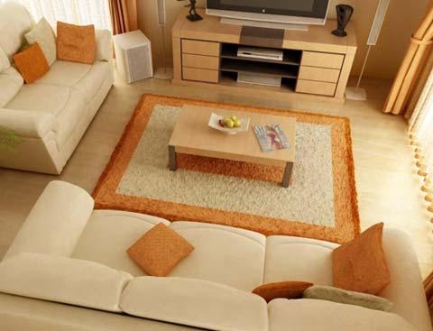 Sofa vải nỉ giá thành rẻ, màu sắc khá đa dạng và phong phú