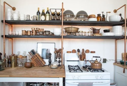 Bố trí đồ dùng trong nhà bếp cần hợp lý