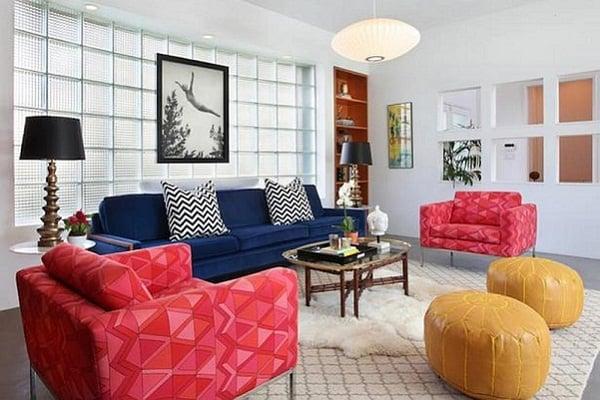 Sofa đơn độc đáo cho phòng khách