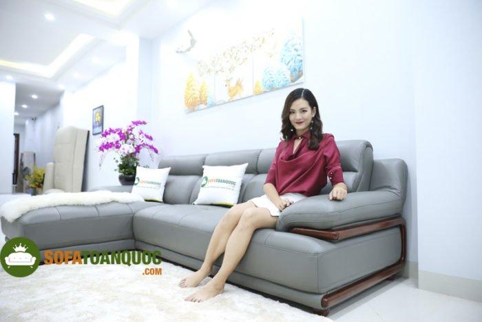 Sofa văng hay sofa góc chữ L sẽ là giải pháp hoàn hảo cho không gian phòng khách nhỏ hoặc phòng khách hình vuông