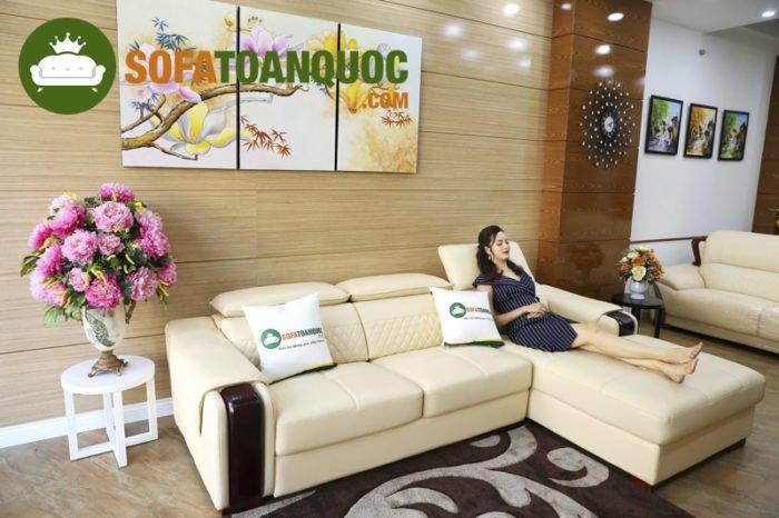 Những mẫu sofa sáng màu đem lại cảm giác thư thái dễ chịu