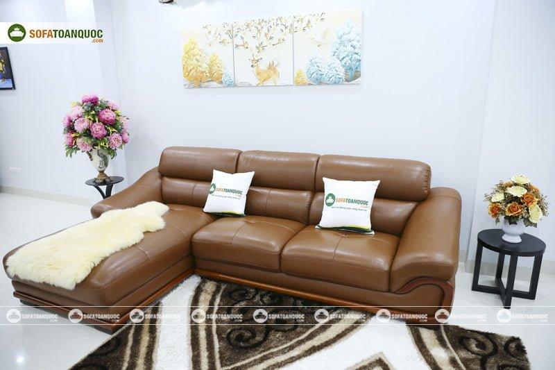 ghế sofa màu nâu cho mệnh thổ