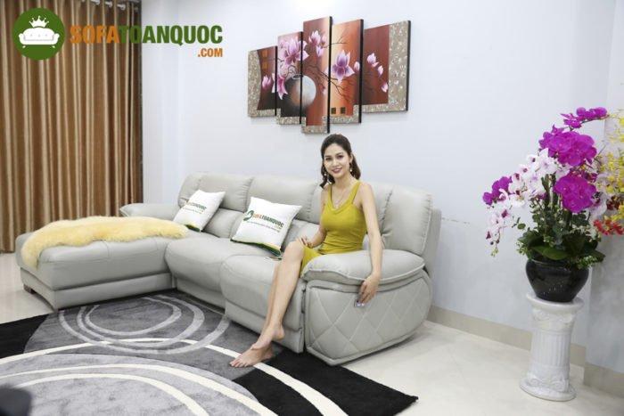 Những mẫu sofa sáng mùa cảm giác thư thái nhẹ nhàng cho phòng khách, tránh được cảm giác oi bức