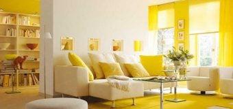 Ấn tượng với những gam màu hiện đại cho phòng khách