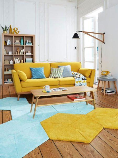 Chọn hình dáng thảm phù hợp cho mùa hè mát mẻ.