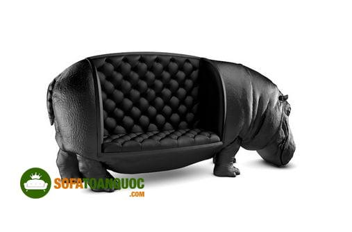 ghế sofa hình con hà mã