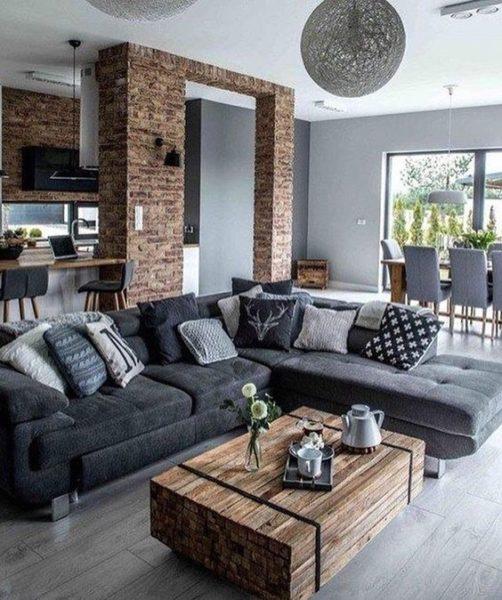 mẫu sofa vải bố đẹp