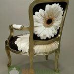 Một số mẫu sofa đơn vải hoa đẹp cho phòng khách thêm sang