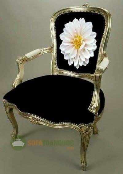 mẫu sofa đơn vải hoa đẹp
