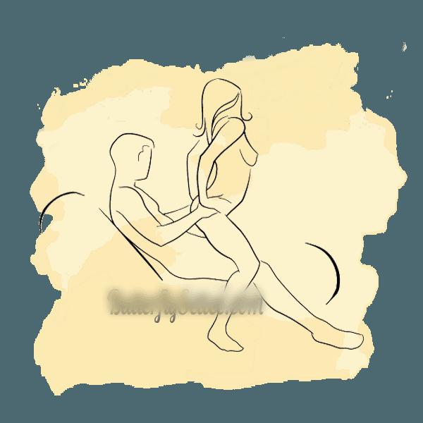 các tư thế quan hệ phê nhất trên ghế tình yêu